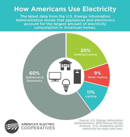howamericansuseelectricitygraphic